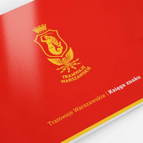 tramwaje warszawskie - projektowanie logo