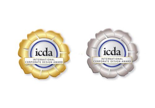 ICDA International Corporate Design Award - papajastudio kraków branding