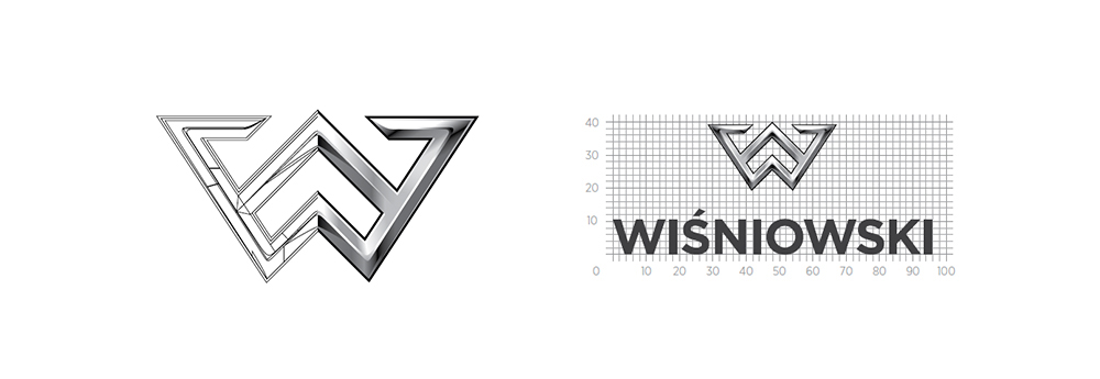 Konstrukcja logo - księga znaku - papajastudio.pl